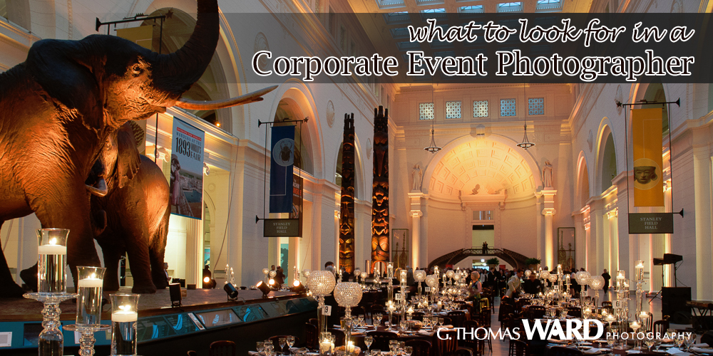 what to look for in an event photographer chicago