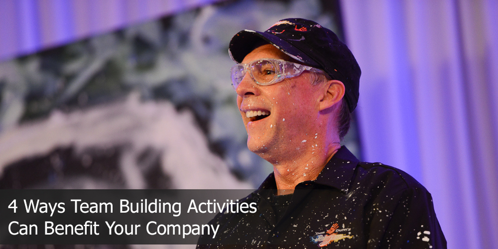 4 ways team building activities can benefit your company