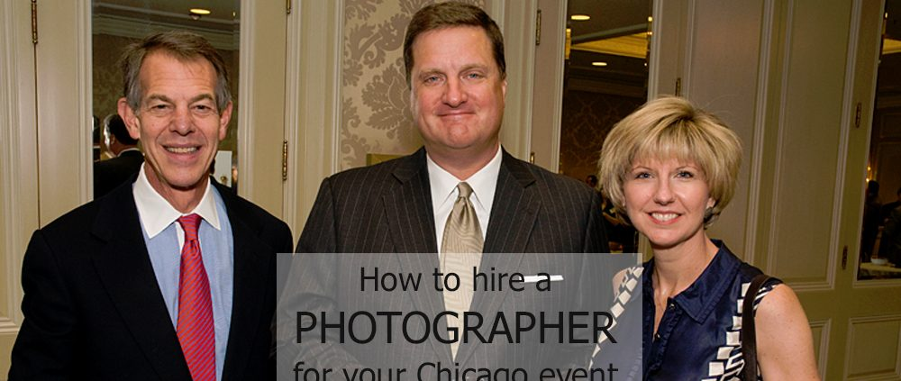 hire a photographer for chicago event