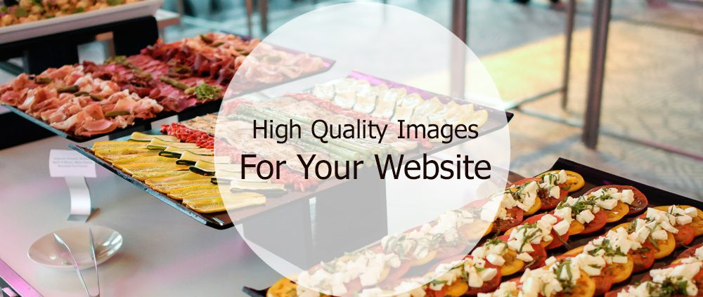 high quality images for your website