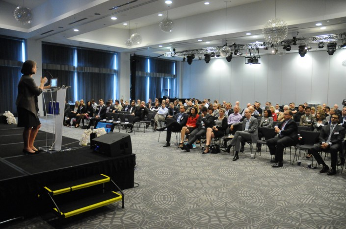 Image of audience at conference