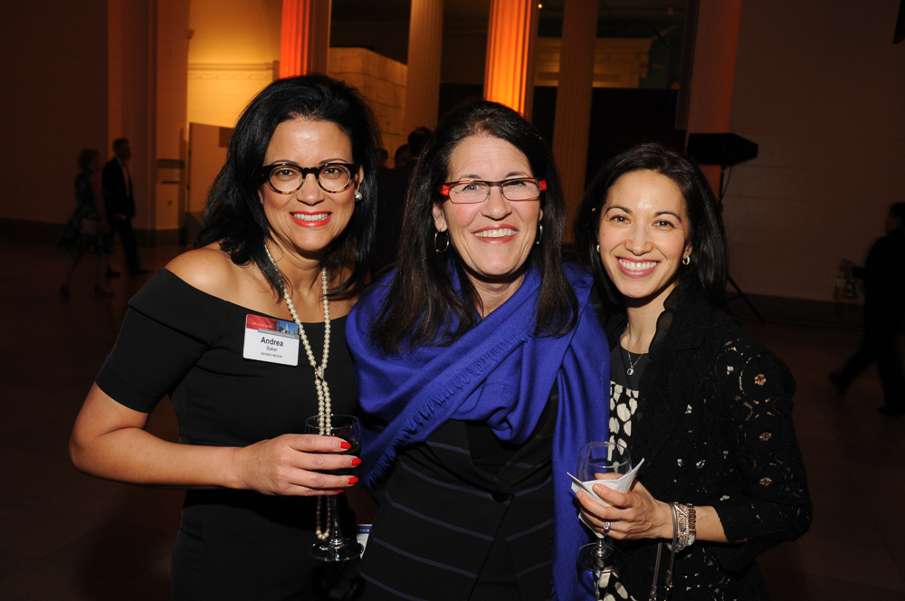 Business women at corporate event in Chicago