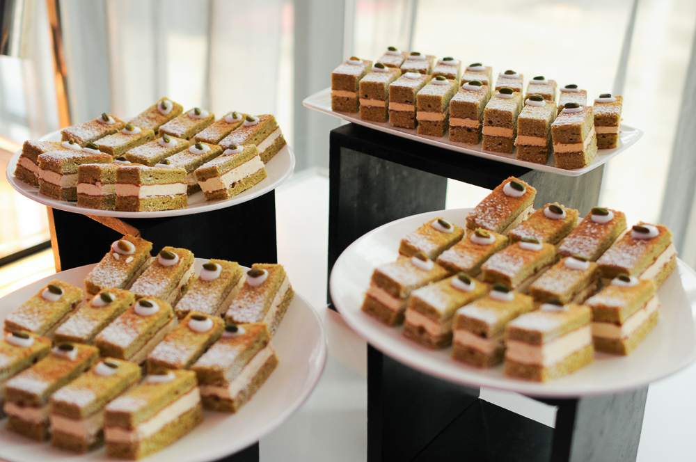 Details and food from corporate event photo