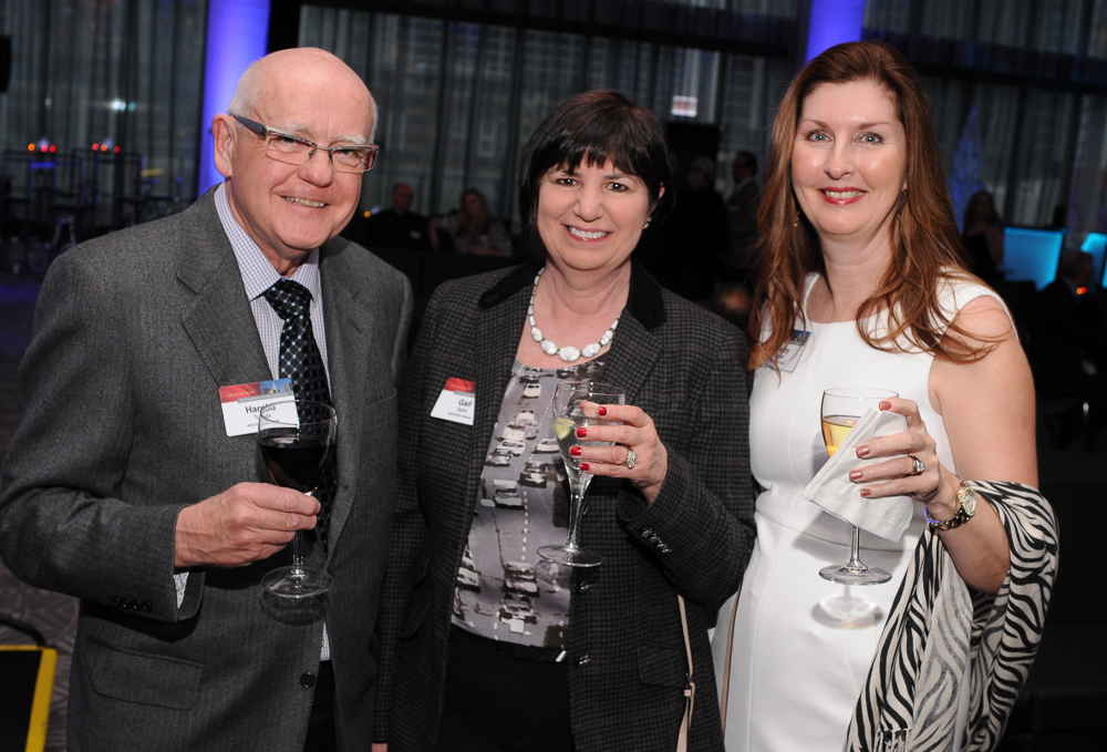 Happy hour photograph from business conference in Chicago