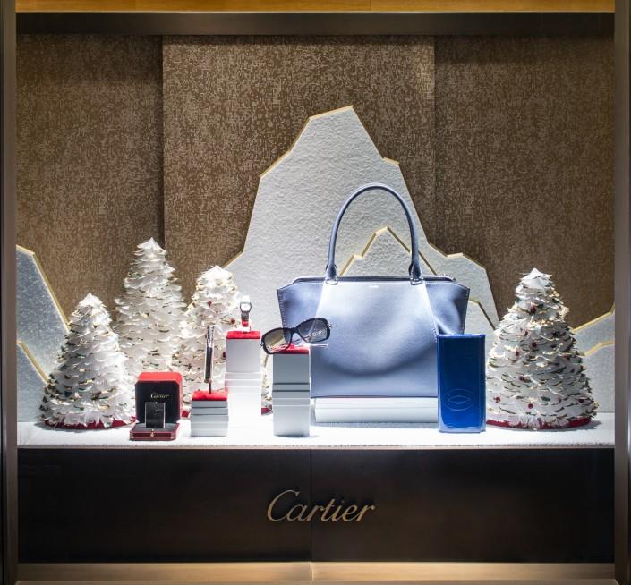 Cartier Chicago window display